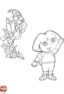 Dora et les fleurs
