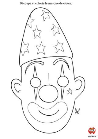 Découpage : le cirque, tu adores ! D'ailleurs, tu es toi-même un petit clown... Ce découpage masque de clown est fait pour toi. Oui c'est vrai, tu adores faire des blagues à tes mais ou ta famille, on appelle souvent ça faire le clown. Alors vite, prends tes ciseaux en faisant très attention, imprime ce masque de clown sur le site TFou, découpe-le et apporte de belles couleurs flamboyantes. Puis, colle-le sur un support rigide avec un petit élastique et le tour est joué, tu vas pouvoir devenir un véritable clown, grâce au masque de clown à découper. C'est à toi de jouer !