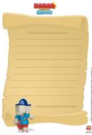 Papier à lettre Babar