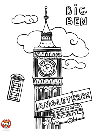 Coloriage: Londres