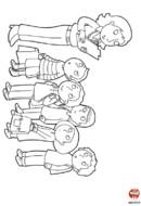 Les enfants à la rentrée des classes