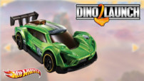 Jeu Hot Wheels : Dino Launch v2