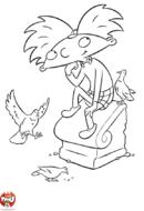 Arnold et les pigeons