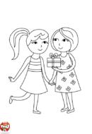 Les deux copines