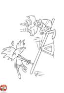 Arnold et Helga balançoire