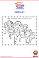 Activités_Tfou_Dora&Friends - Coloriages _01