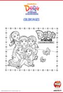Activités_Tfou_Dora&Friends - Coloriages_02