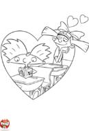 Helga amoureuse d'Arnold