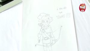Robin des Bois - Apprendre à dessiner Robin