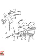 Helga et la pâquerette