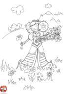 La princesse aux fleurs 2