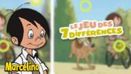 Jeu Marcelino : les 7 différences