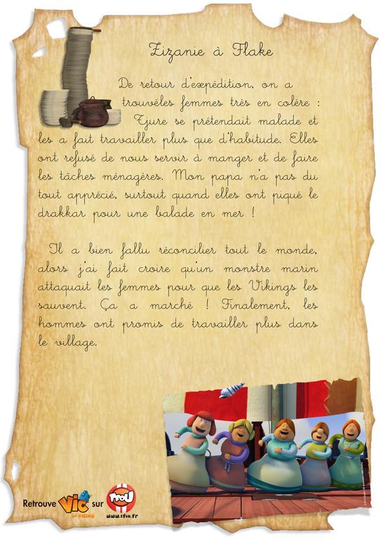 Carnet de bord_vic le viking_Zizanie a Flake