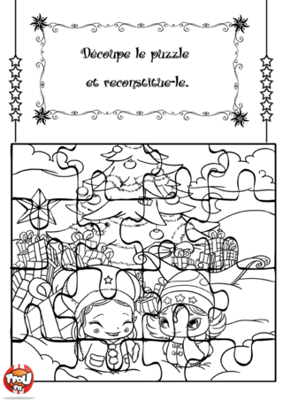 Pin coloriage paques message de paquesmessage on pinterest - Coloriage puzzle ...