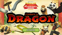 vignette jeu combats le dragon - kung fu panda