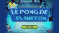 Bob l'éponge - vignette jeu le pong de plankton