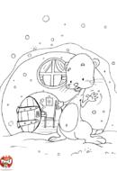 La maison de la marmotte