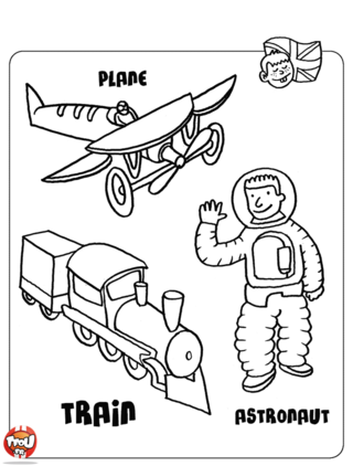 Coloriage: Les jouets4