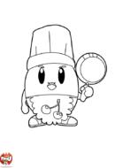 Poulbill, le cuisinier
