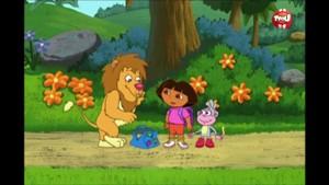 Léon le lion du cirque - Dora l'exploratrice
