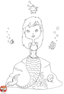 Sirène pensive