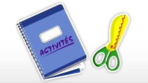 Coloriage Cahier d'activités