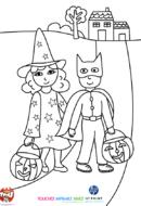 Les enfants sont déguisés