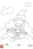 Elfe qui lit