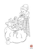 Coloriage-Noel-cadeaux