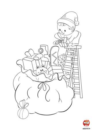 Le jour de Noel est enfin arrivé. Célestin ouvre ses cadeaux apportés la veille par le Père Noel...