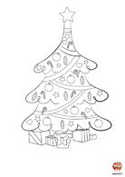 Coloriage-Noel-sapin