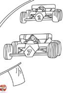 Formule 1 : les pilotes font la course