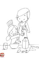 La cuisine avec Maman