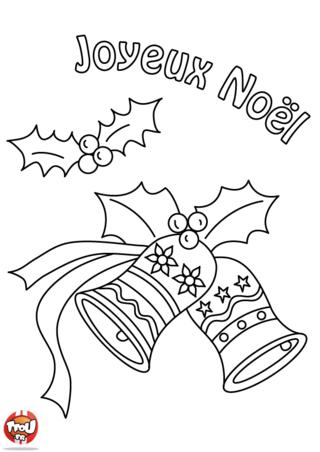 Coloriage: Le houx et les cloches