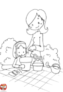 Jardinage avec Maman