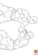 Combat de boxeurs