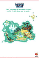 Marcus Level - carte du monde