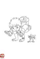 Diego et la grenouille