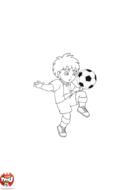 Diego joue au foot