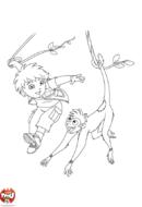 Diego et le singe