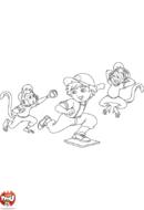 Diego et les singes