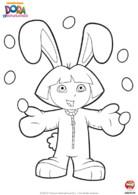 Pâques Dora lapin