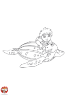 Diego et sa tortue 2