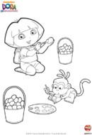 C'est bientôt Pâques et Dora aimeraient organiser une chasse aux œufs. Dora et son ami Babouche ont trouvé une super activité pour rendre cette chasse aux œufs inoubliables :