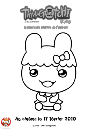 Coloriage: Chamametchi