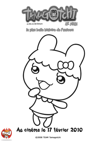 Coloriage: Chamametchi2