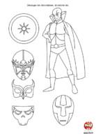 Anniversaire Super Héros : décoration