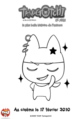 Coloriage: Mametchi3