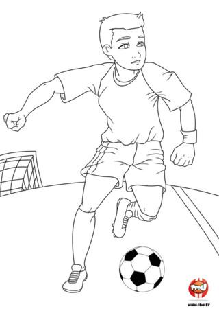 Jouer au football boutique discounts en ligne - Fille joue au foot ...