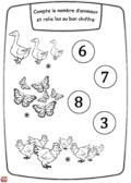 Les animaux et les chiffres2
